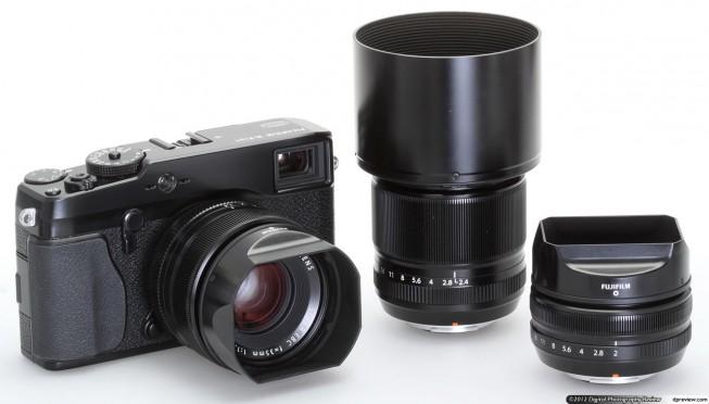 Die verfügbaren Fuji X Pro 1 Objektive sind großteils Festbrennweite-Objektive. Foto: dpreview.com
