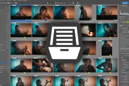 Der Katalog in Zoner Photo Studio