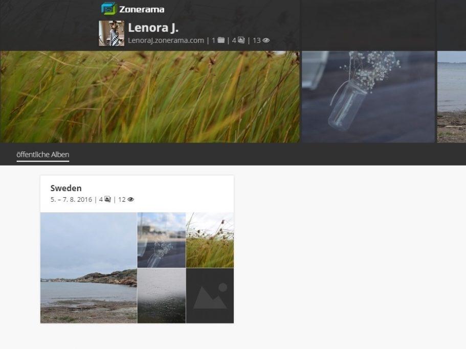Wie man sich auf Ausflüge vorbereitet: Die kostenlose Online-Galerie Zonerama bietet unbegrenzten Speicherplatz für Ihre Bilder. Zudem ist die Galerie auch direkt mit Zoner Photo Studio verbunden.