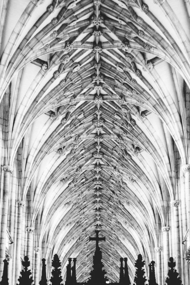 Das Erscheinungsbild der Kirche wird nicht nur von außen bestimmt.