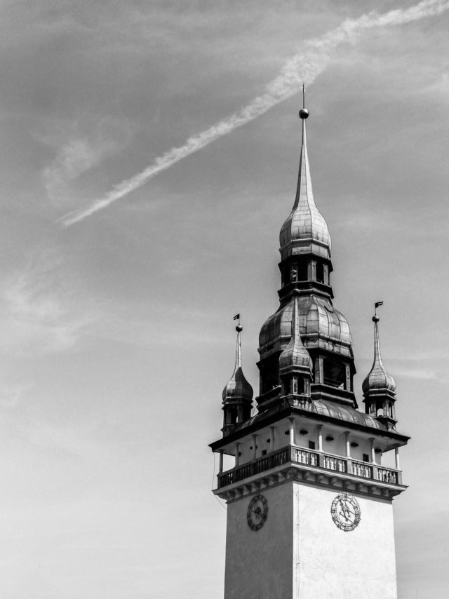 Aufnahme des Rathauses.