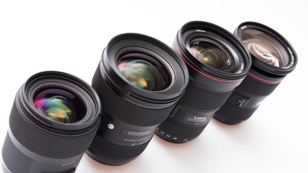 [Test] 4 Objektive, 35 mm Brennweite, f/2.8 - erfahren Sie, welches Objektiv am besten abgeschnitten hat