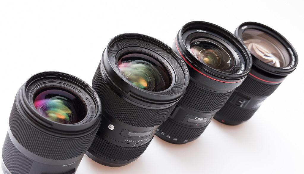 [Test] 4 Objektive, 35 mm Brennweite, f/2.8 – erfahren Sie, welches Objektiv am besten abgeschnitten hat
