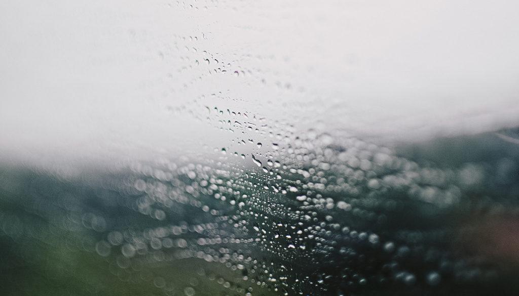 Fotografieren über Glas