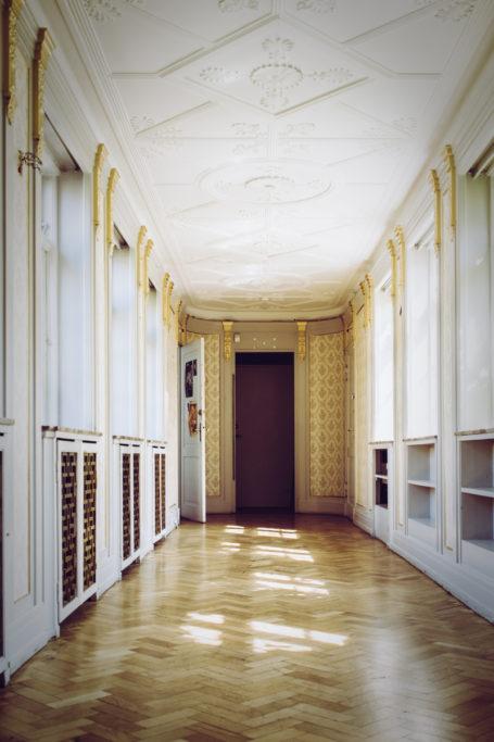 Der Wände des Innenbereichs waren mit mehr Ornamenten verziert als im Außenbereich.