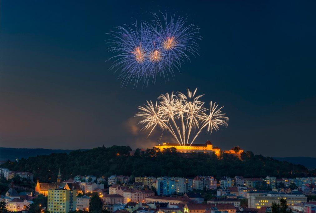 Feuerwerke richtig fotografieren: Foto von Jirka Soukup.
