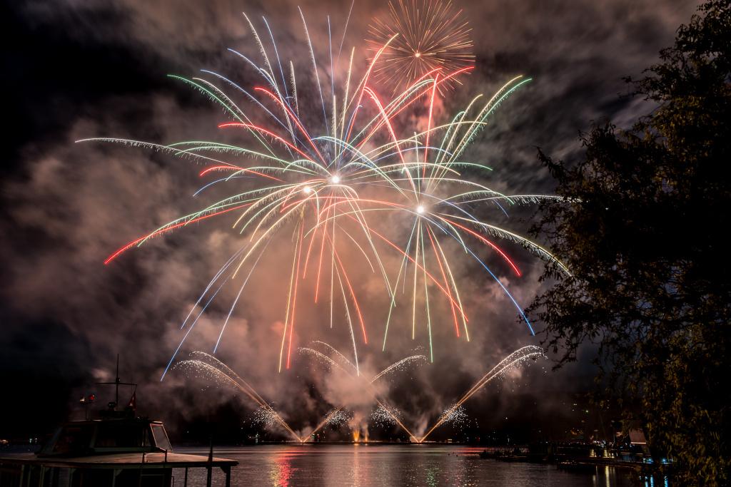 Feuerwerke richtig fotografieren: Foto von Jaromír Šauer.