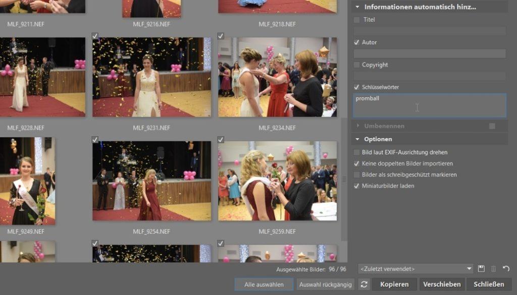 Wie man seine Fotos auf den Computer lädt