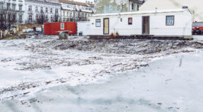 Entdecken Sie den Zauber von Stadtaufnahmen im Winter