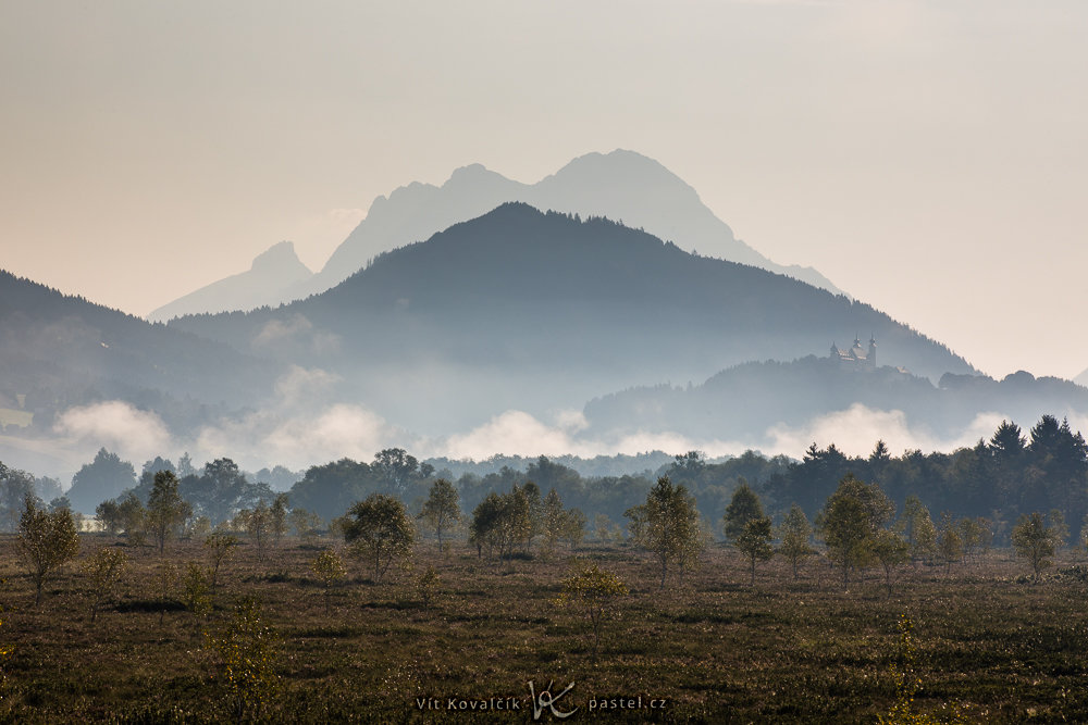 Wie man bei Nebel fotografiert: Um 8 Uhr konnte man den Nebel nur noch in einer dezenten Form sehen.