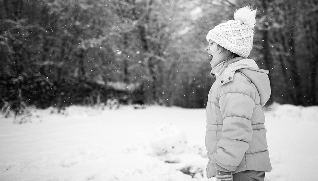 Unterhaltung und romantische Porträts. Erfahren Sie, was Aufnahmen von Kindern im Winter bieten