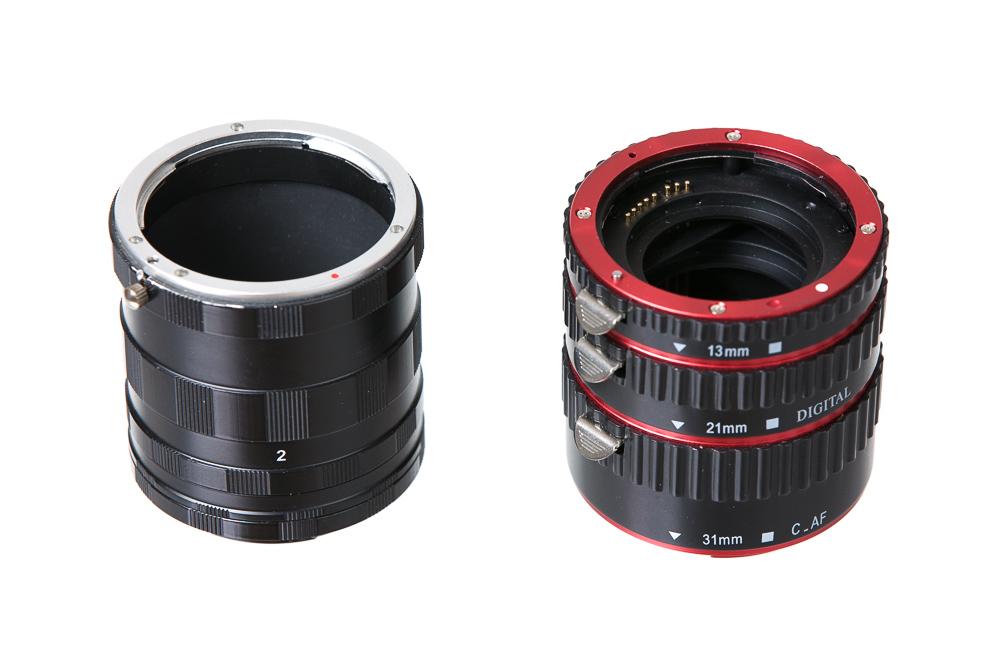 Zeit für ein Upgrade der Fotoausrüstung: Zwischenringen.