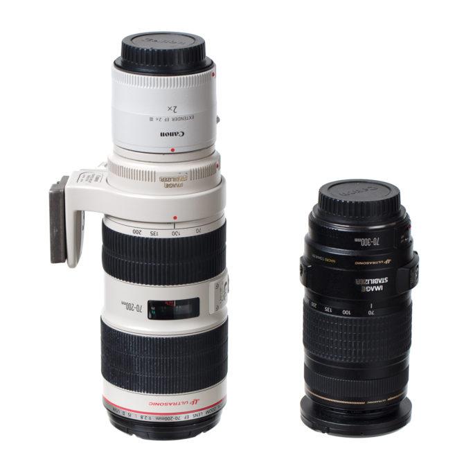 Zeit für ein Upgrade der Fotoausrüstung: Teleobjektiven Canon.