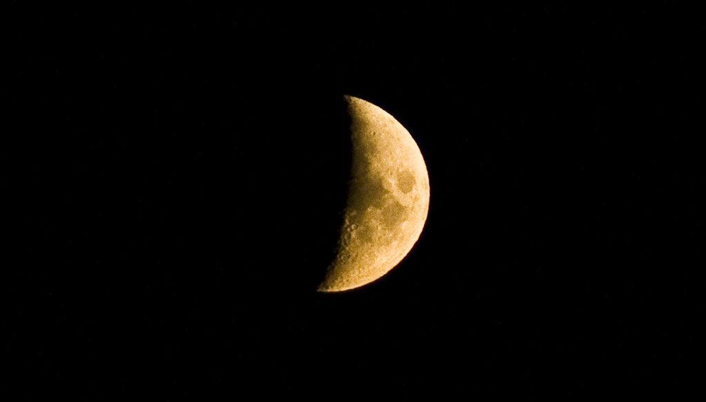 Wie man den Mond fotografiert