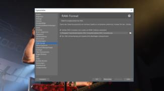 Adobe DNG Converter mit Zoner Photo Studio verbinden