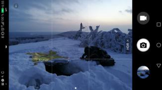 Landschaftsaufnahmen mit dem Mobilfunkgerät: Voreingestellte Funktionen werden Ihnen helfen
