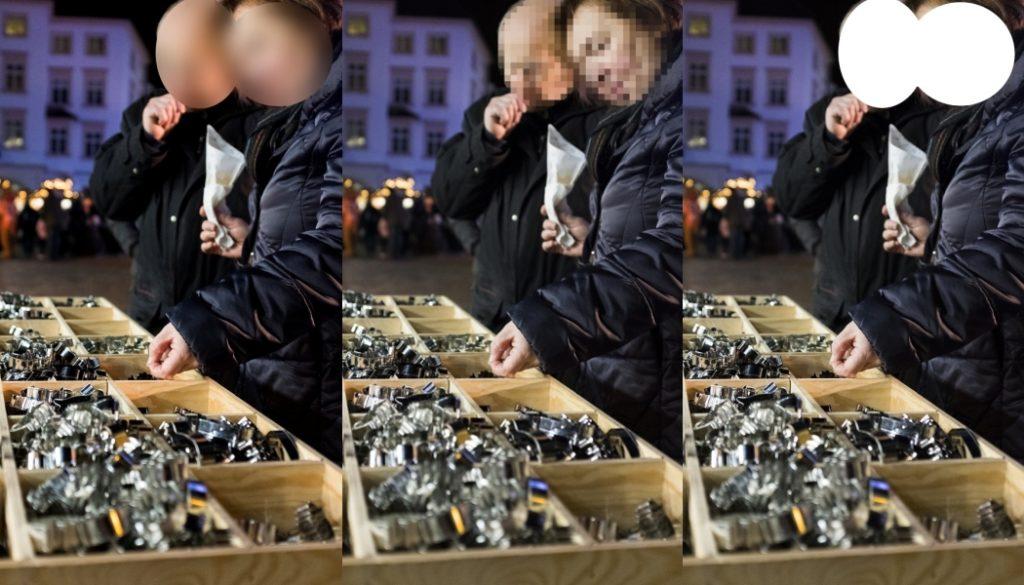Anonymisierung von Gesichtern + 4 weitere Tipps, wie man sensible Daten schützt