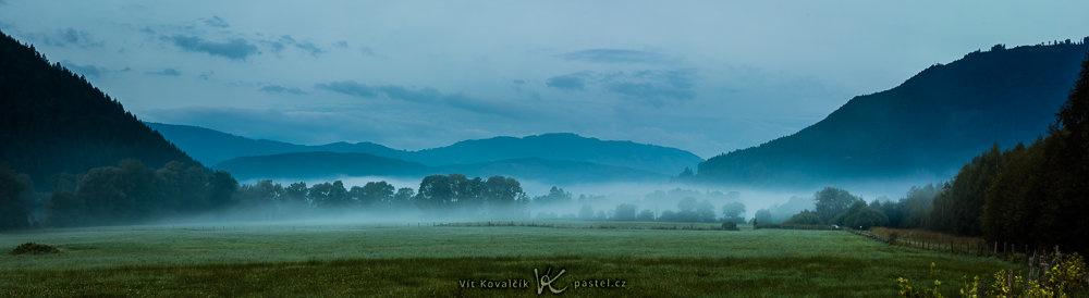 Landschaften unter unterschiedlichen Bedingungen fotografieren - blaue stunde