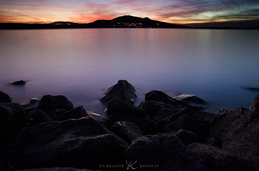 Landschaften unter unterschiedlichen Bedingungen fotografieren - nach dem sonnenuntergang