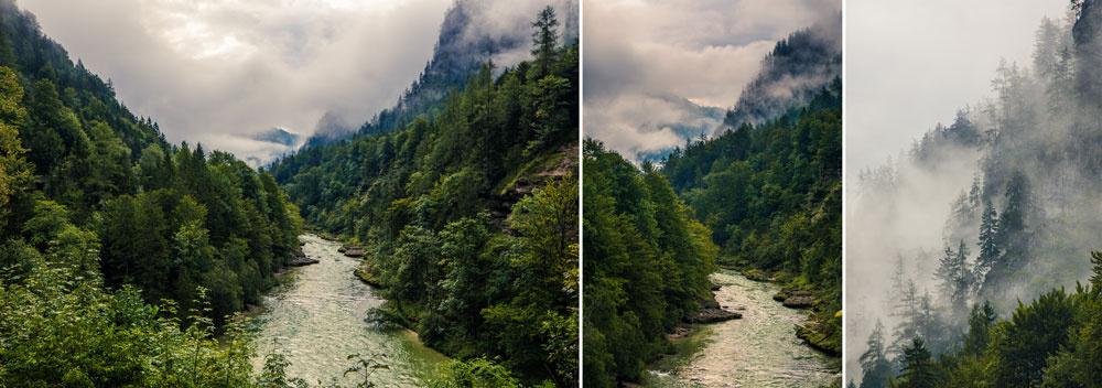 Landschaften unter unterschiedlichen Bedingungen fotografieren - verschiedenen brennweitern