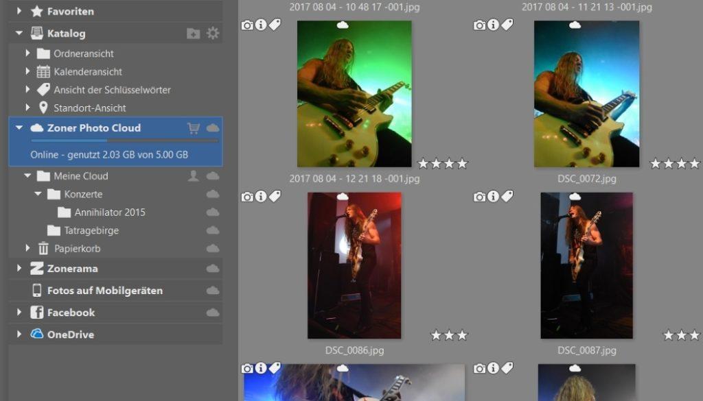 Zoner Photo Studio X führt die Zoner Photo Cloud ein