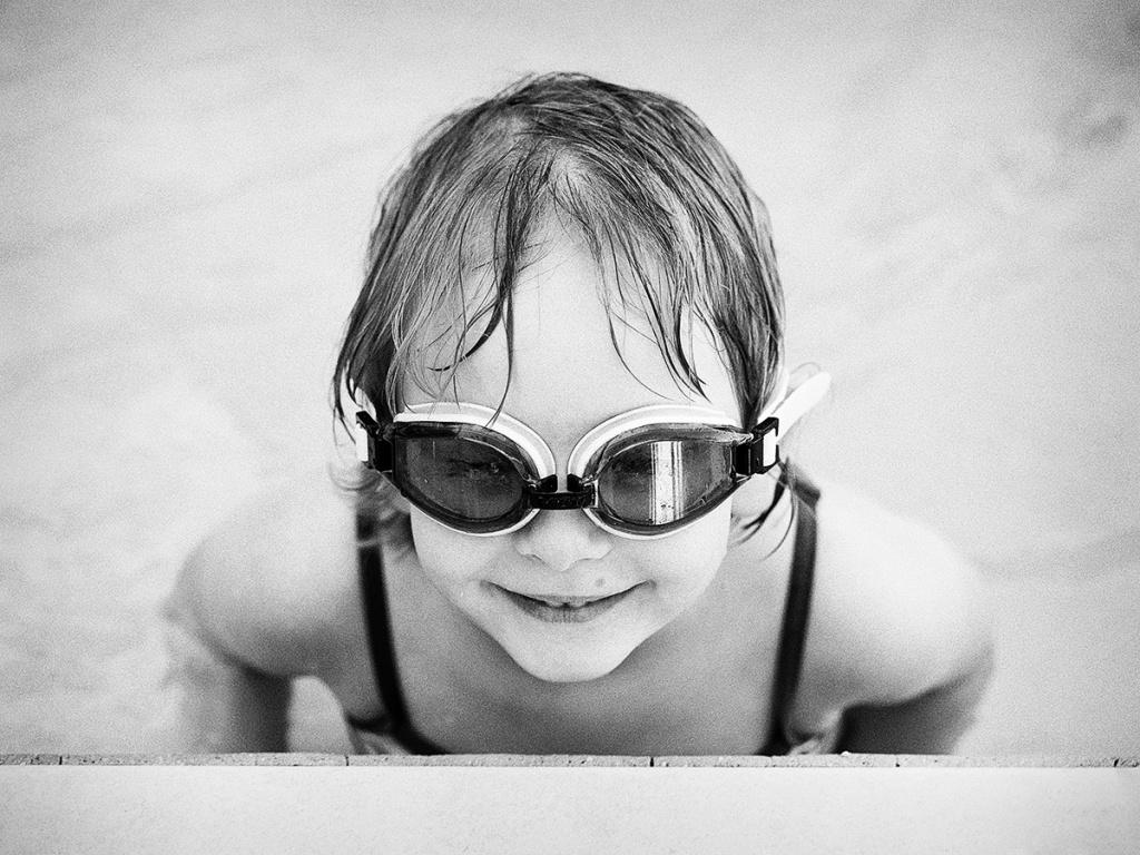 Genießen Sie den Urlaub mit der Fotokamera - Brille