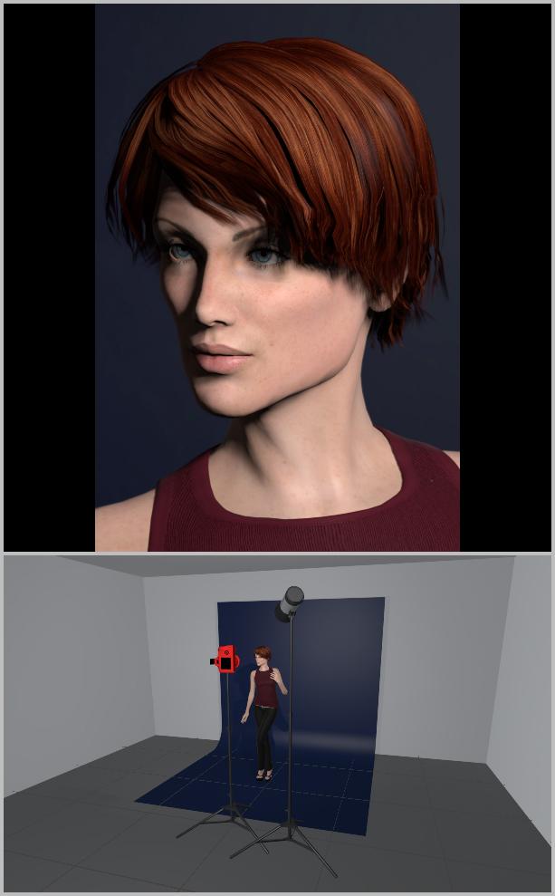 Porträts richtig belichten I - broad lighting
