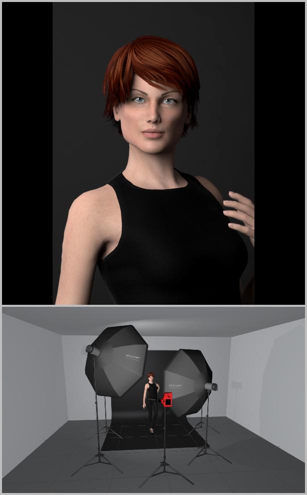 Porträts richtig belichten I - key light