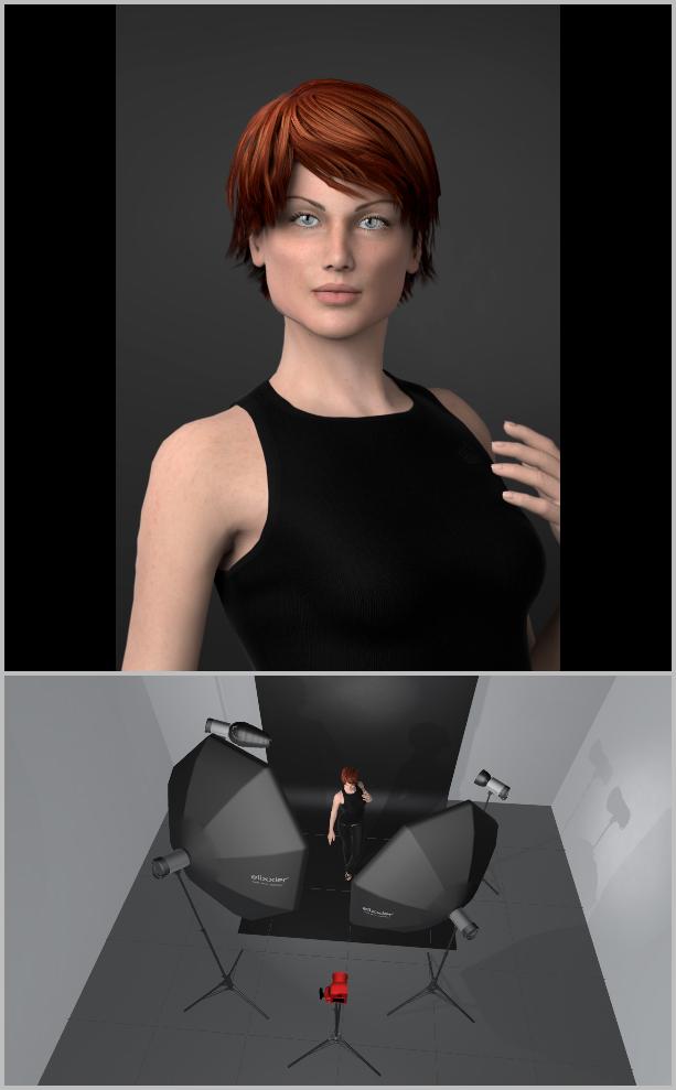 Porträts richtig belichten I - Kombination