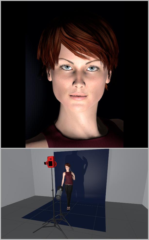 Porträts richtig belichten I - Licht von Unten
