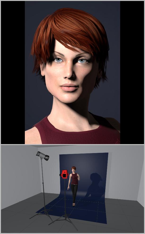Porträts richtig belichten I - loop lighting
