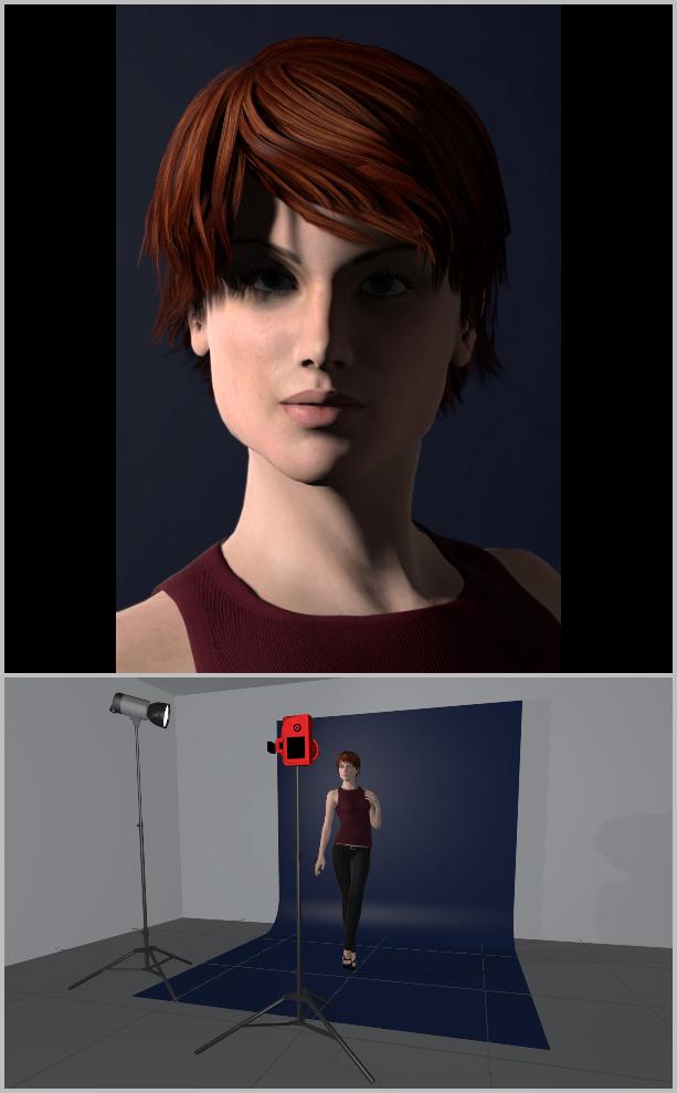 Porträts richtig belichten I - Seitenlicht