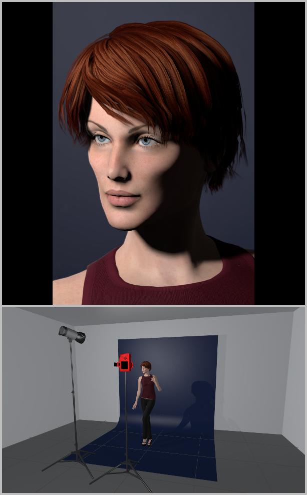 Porträts richtig belichten I - short lighting