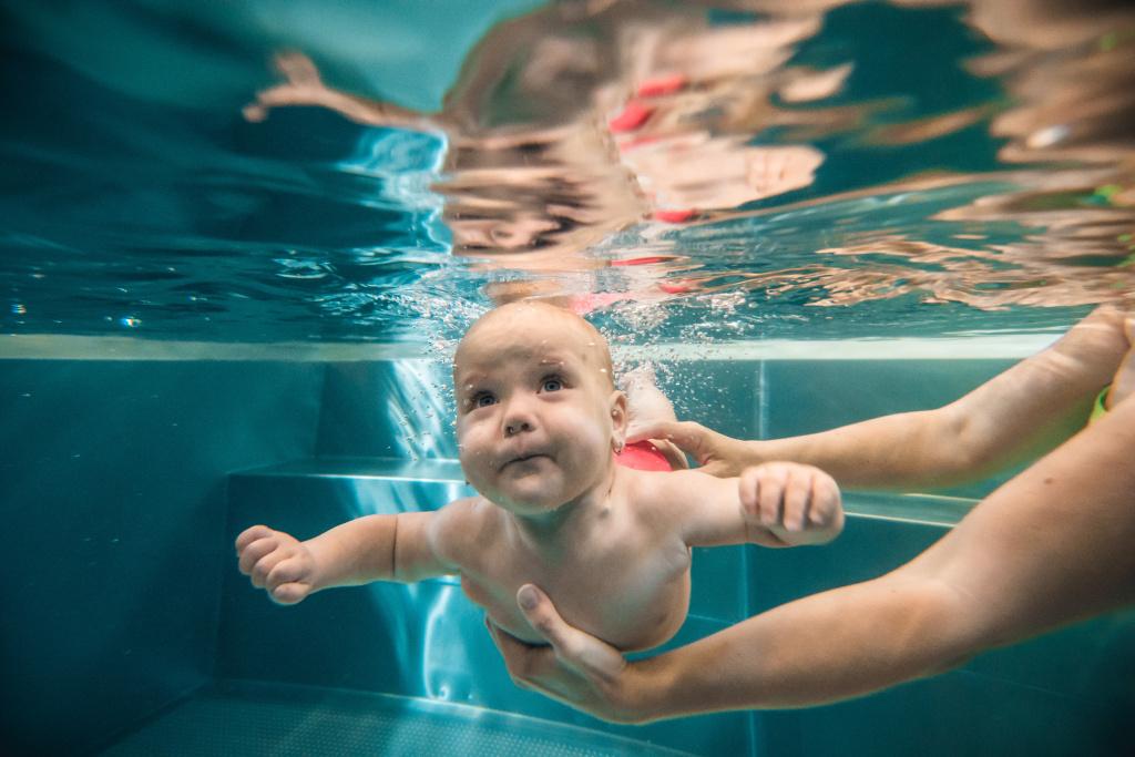 Wie fotografiert man unter Wasser - Augen