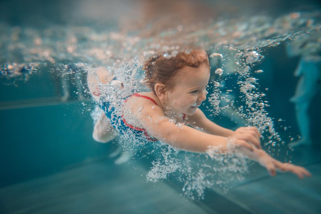 Wie fotografiert man unter Wasser - Blasen