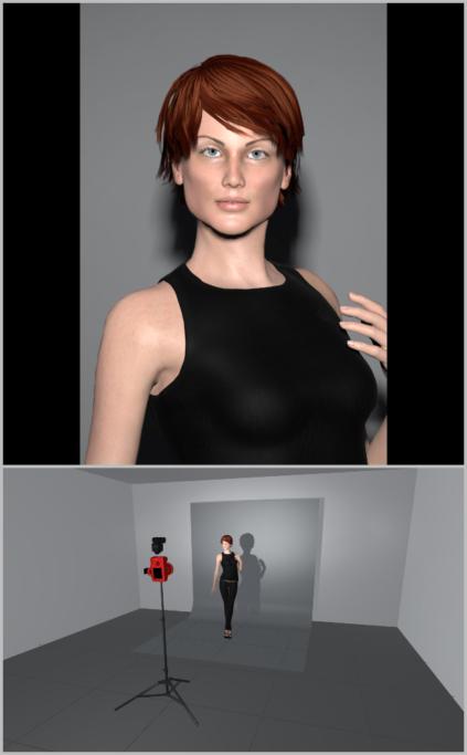 Fotografieren mit künstlichem Licht: Auf der Illustration können Sie die Verwendung eines Blitzgeräts auf der Blitzschiene erkennen.
