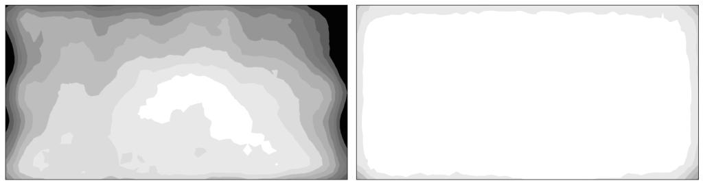 Wie man einen Monitor für Fotografen auswählt: Manche Monitore sind in der Lage, eine elektronische Korrektur der Helligkeits- und Farbunterschiede einzelner Pixel durchzuführen und somit für eine homogene Leuchtdichteverteilung zu sorgen.