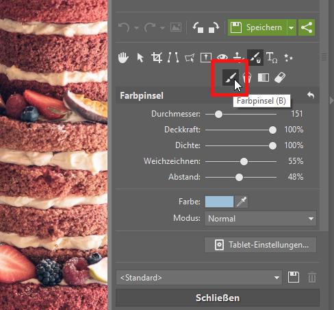 Wie man einen durchsichtigen Hintergrund erstellt - pinsel