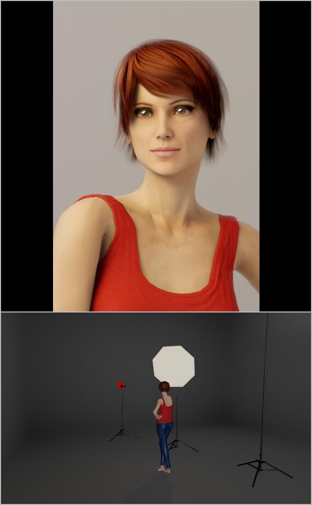 Porträts richtig beleuchten IV - licht dispersion softbox