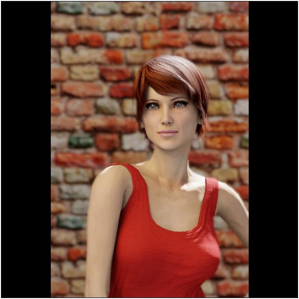 Porträts richtig beleuchten IV - softbox, schwach, CTO