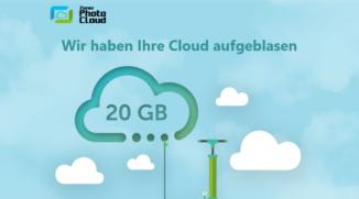 Die Zoner Photo Cloud wird um 20 GB Cloudspeicher erweitert