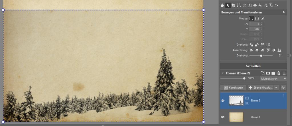 Erstellen Sie originelle Neujahrskarten - bewegen