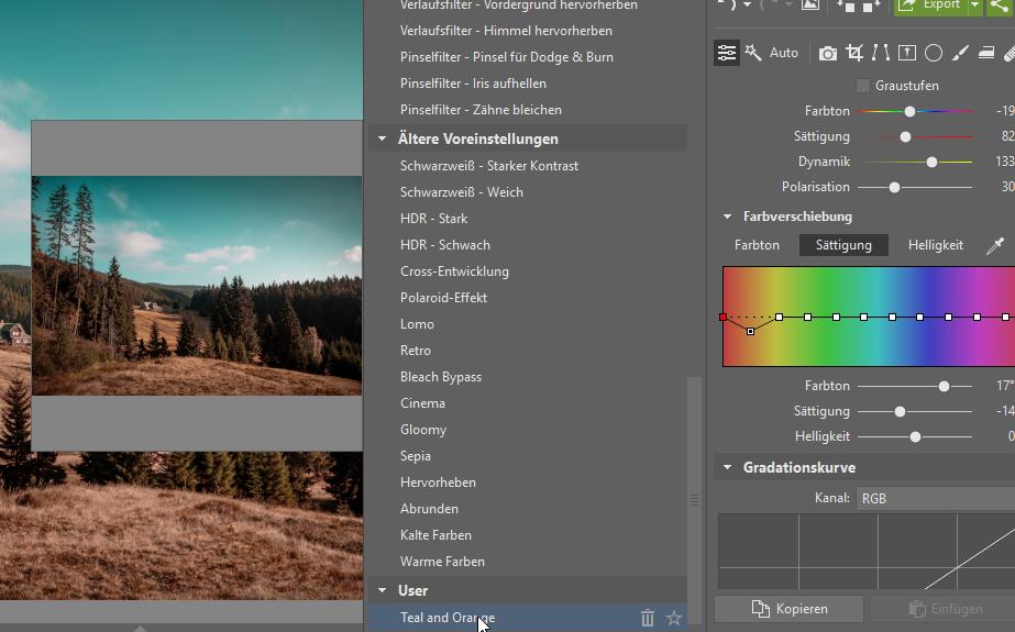 Wie kann man die Bildbearbeitung beschleunigen und gleichzeitig den eigenen Stil beibehalten - verwenden