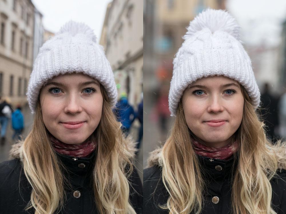 Wie fotografiert man ein gutes Profilfoto - brennweiten