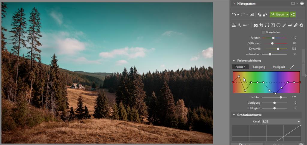 Wie kann man die Bildbearbeitung beschleunigen und gleichzeitig den eigenen Stil beibehalten - Korrektion