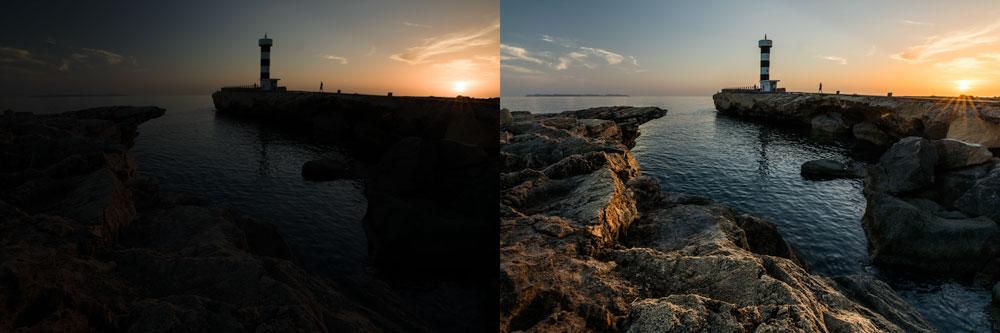Landschaftsfotografie III - niedrigen iso