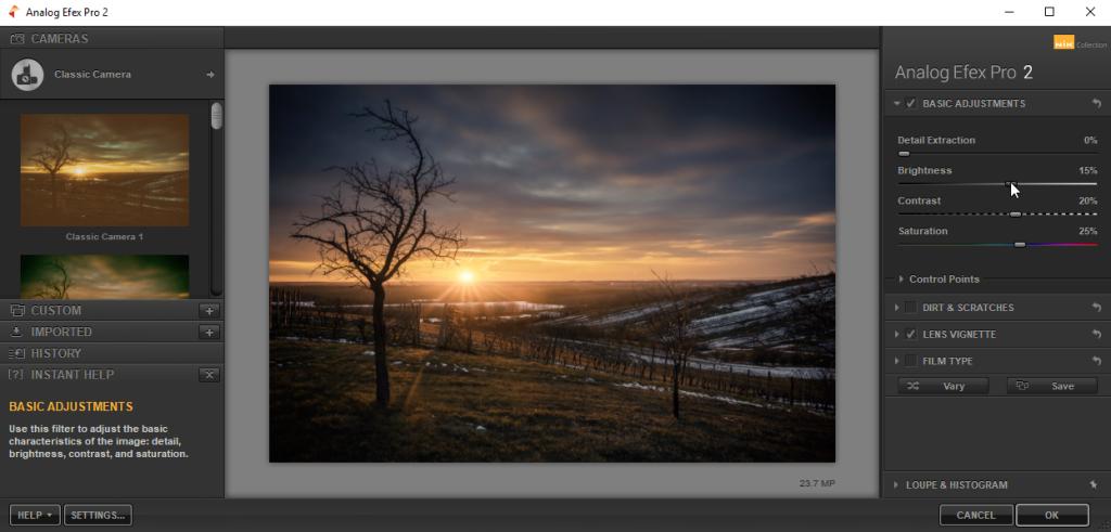 Verbessern Sie Zoner Photo Studio mit Plugins - Nik