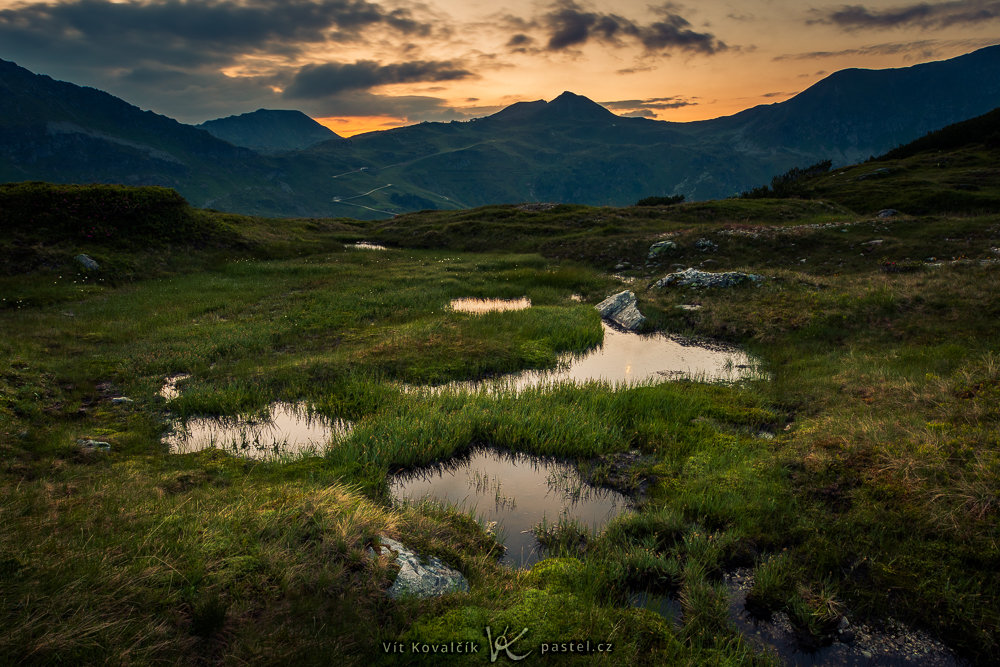 Landschaftsfotografie III - vor dem sonnenaufgang