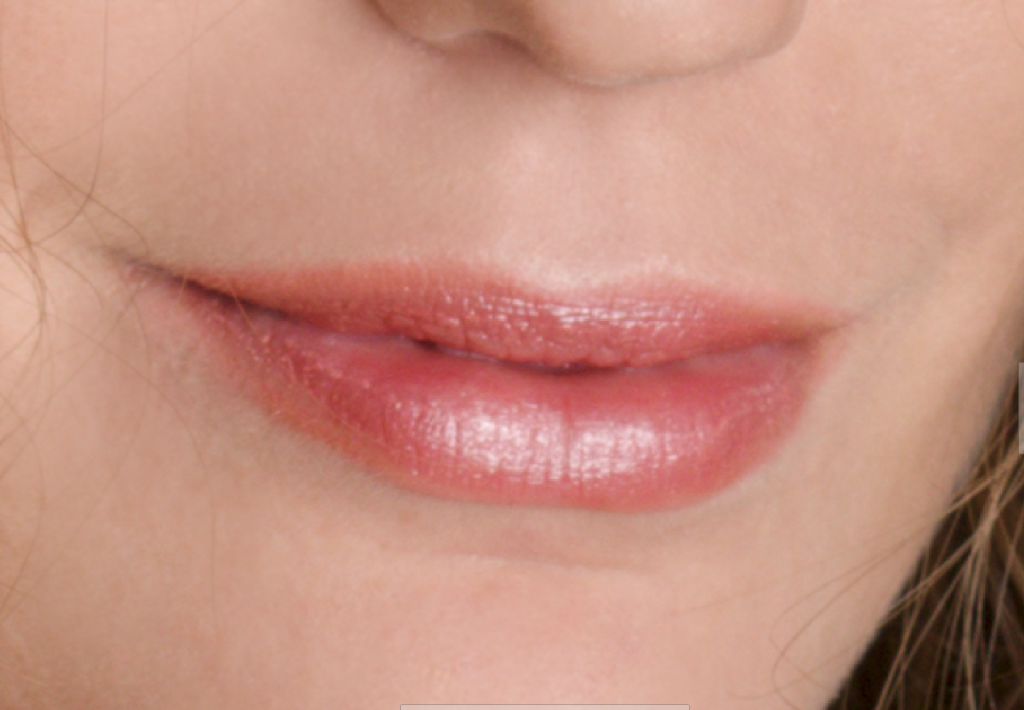 Lernen Sie Porträts zu retuschieren - lippen nach der bearbeitung