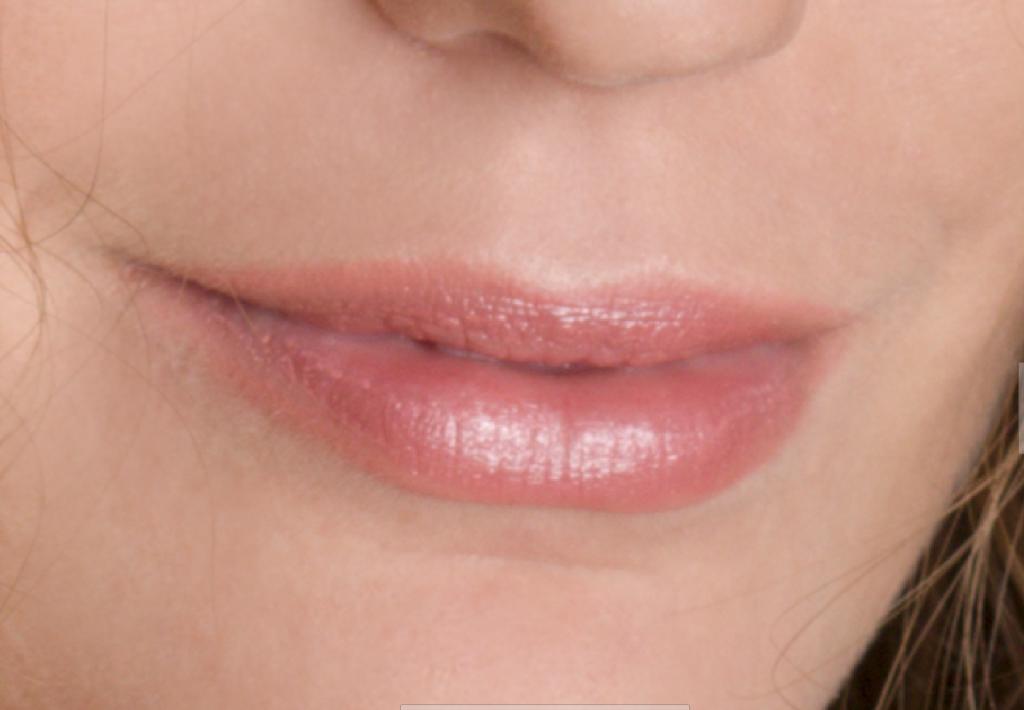 Lernen Sie Porträts zu retuschieren - lippen vor der bearbeitungen